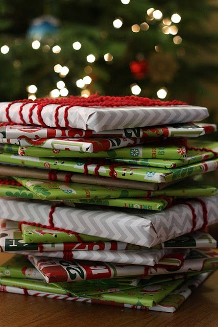 Wrap up twenty-five children's books and put them under the tree with a special blanket next to them. Before bed each evening, your kids choose one book to open and read together until Christmas. Love it!  This might be better than an advent calendar!!