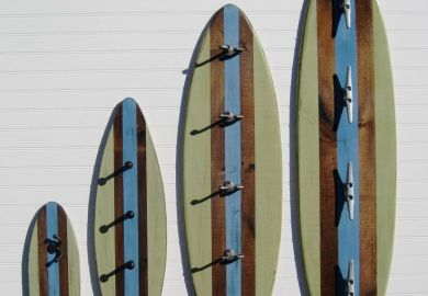 Surfboard Bathroom Decor