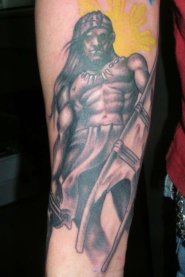 Filipino Warrior Tattoos