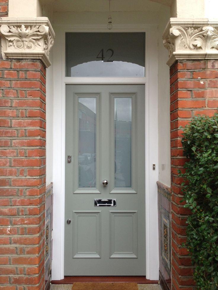 Farrow And Ball Railings Front Door