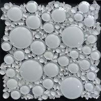 glass bubble tile | For the Home | Pinterest