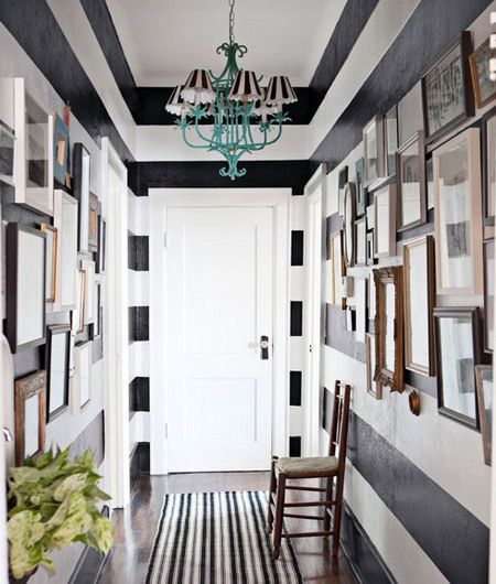 45 Cool Ideas To Decorate Your Ceilings With Stripes | Shelterness