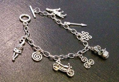 Wolf Charm Bracelet