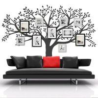 Tree Wall Decal - Family Tree - Vinyl Tree Sticker - Photo ...