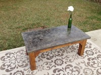 outdoor concrete coffee table | For Gus | Pinterest