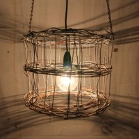 wire lamp shade | LIGHTS! | Pinterest