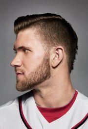 baseball hair styles