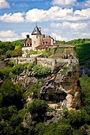 | ? | Château de Belcastel - Lot, Pyrenees, France | by ©...