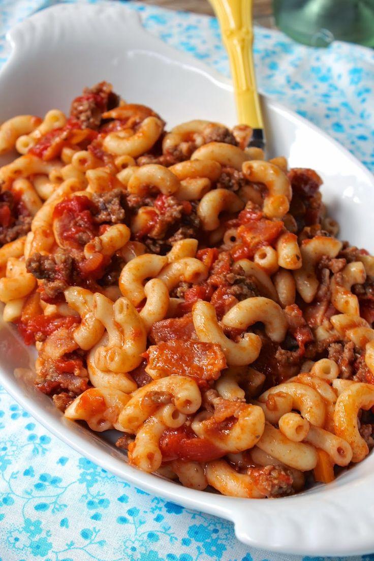Chili Elbow Macaroni