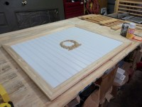 DIY fireplace cover