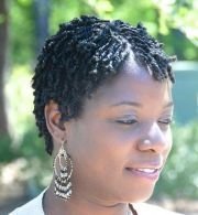 short natural two strand twist