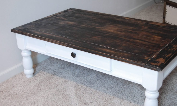 refinish coffee table