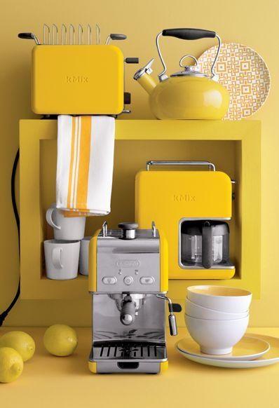 Yellow Kitchen Small Appliances  Myideasbedroomcom