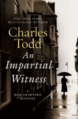 An Impartial Witness ($1.99) is the second title in the Bess Crawford Mystery series by Charles Todd.