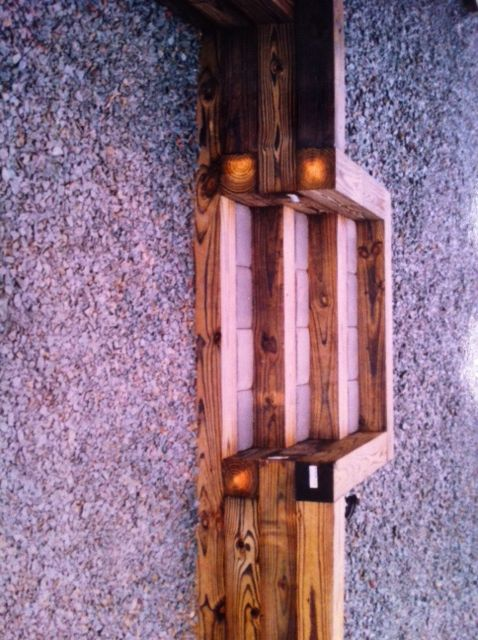 Planter Box Railroad Tie