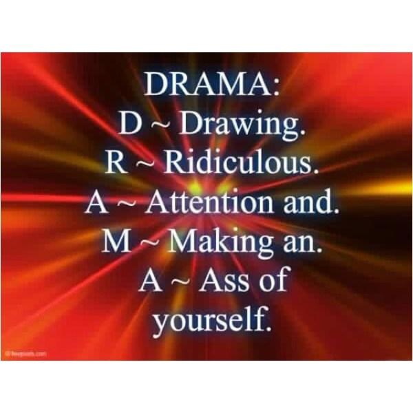 No Drama Zone Quotes QuotesGram