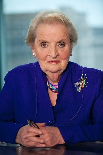 Madeleine Albright. #ParksandRec