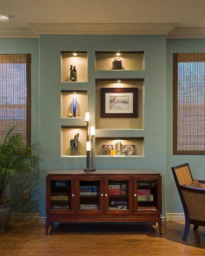 Recessed shelves  HOME  Pinterest