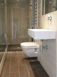 Narrow bathroom layout | For the Home | Pinterest