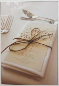 place setting | Rustic Romance | Pinterest