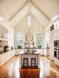 high ceiling kitchen (550x734) - Imgur | Castle in the Sky ...