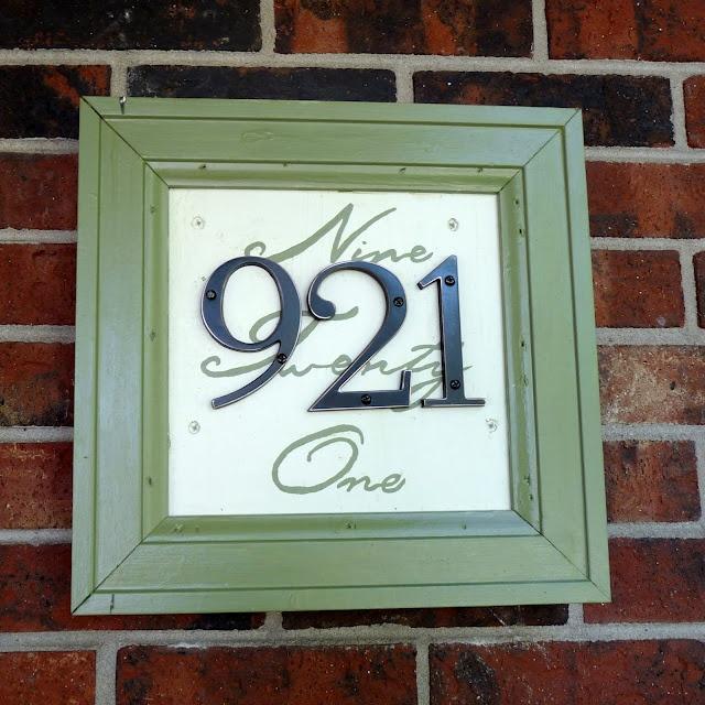 unique house number