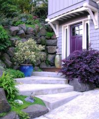 Cute Idea for a Small Front Yard Garden | Its a Purple ...