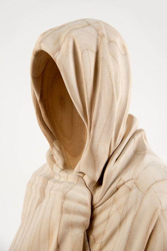 "Paul Kaptien ""Untitled"" Mandorla Art Award 2014 - WinnerLaminated, hand carved wood.h58 w28 d30cm2014 My Amp Goes To 11:Twitter|Instagram"