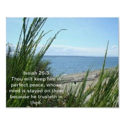 Isaiah 26:3. Love this verse!