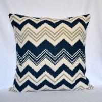 Pillows Blue navy Decorative pillow Designer Pillow Accent ...