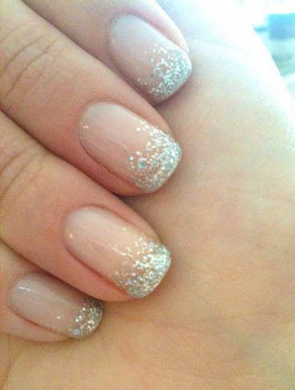 Silver Wedding Manicure- Nailed It! 12 Nail Art Designs for Your Wedding Day