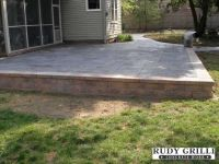 Great Raised Concrete Patio Design Ideas - Patio Design #295