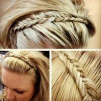 "Braided ""hair""band | Got my weave on girrrrl | Pinterest"