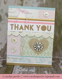 Creative Thank You Cards Ideas | www.imgkid.com - The ...