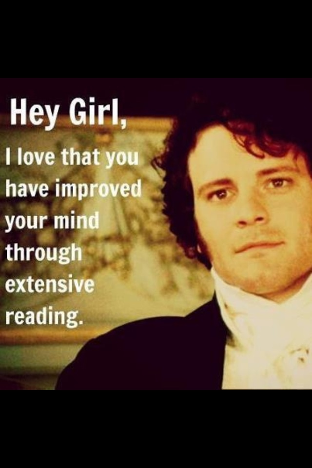 affirmations from Mr. Darcy