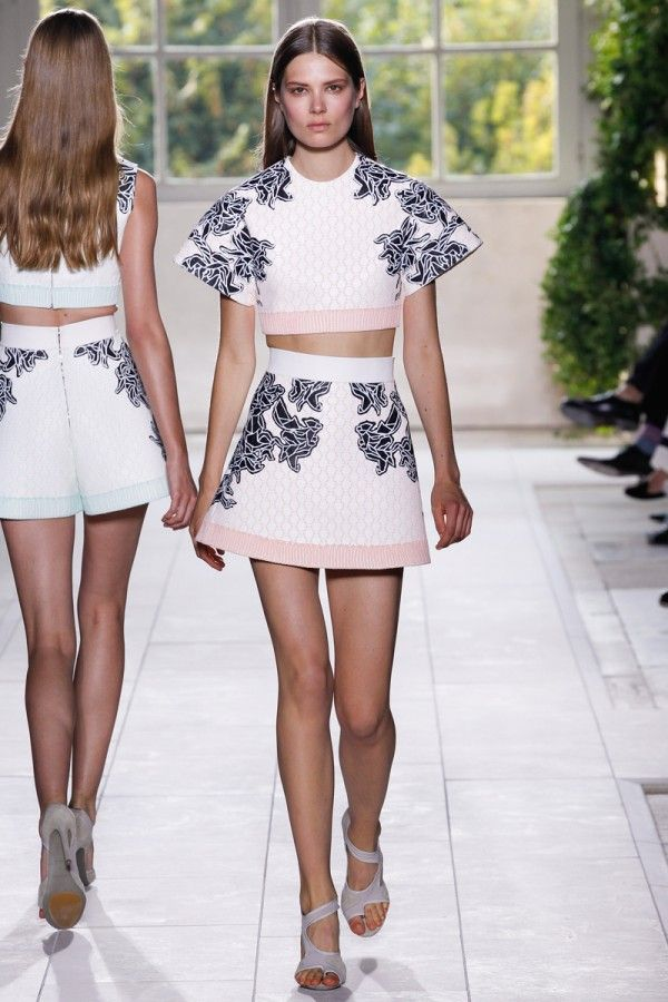 Spring 2014 Trends Crop Tops Balenciaga « fashionmagazine.com