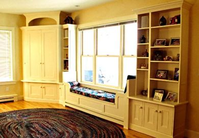 How To Build A Window Seat From Wall Cabinets How To