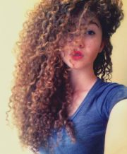 natural hair curly 3b curls long