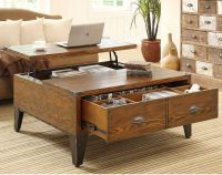 Lift Top Coffee Table with Storage   I might need this ...
