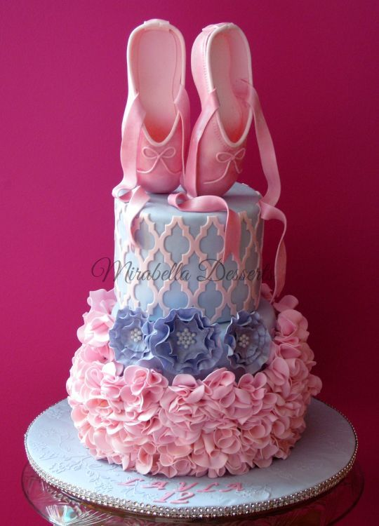 www.cakecoachonline.com - sharing...Ballerina cake