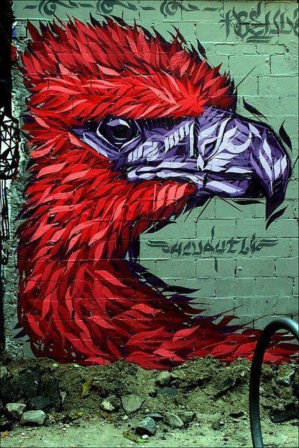 street artist : cuautli