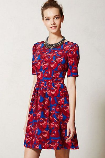 Cheshire Dress #anthropologie