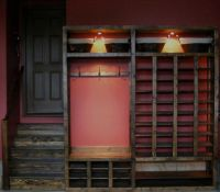 Cantrell Shoe rack for garage | Cantrell DIY | Pinterest
