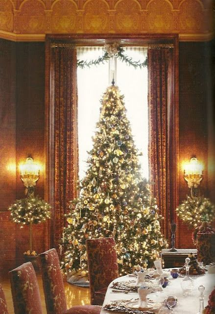 CHRISTMAS AT THE BILTMORE in North Carolina