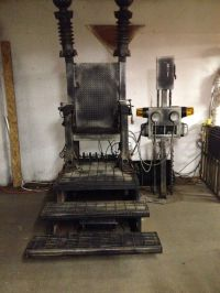 Electric chair | Haunted Asylum | Pinterest