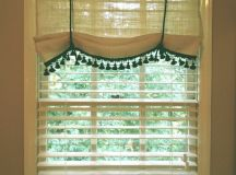 No Sew Diy White Burlap Curtains Four Generations One ...