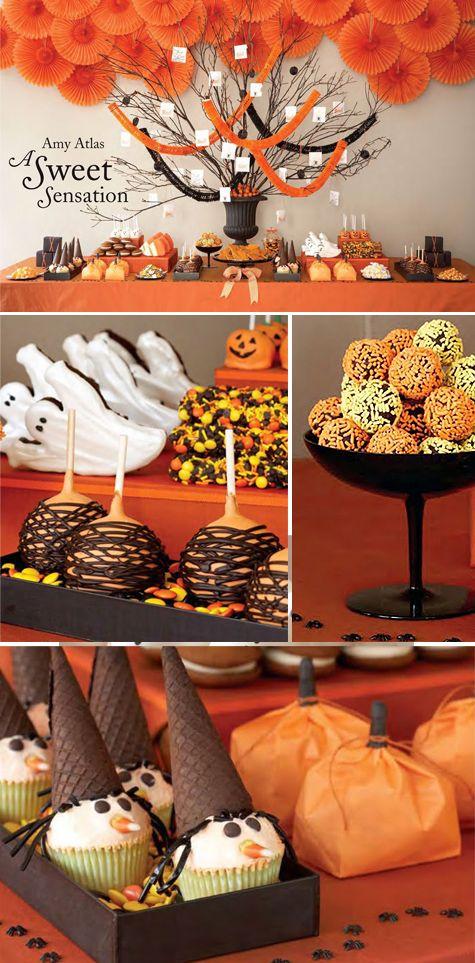 Cute Halloween desserts!