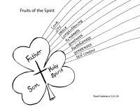 Fruits of the Spirit Coloring Page | Sunday school crafts ...