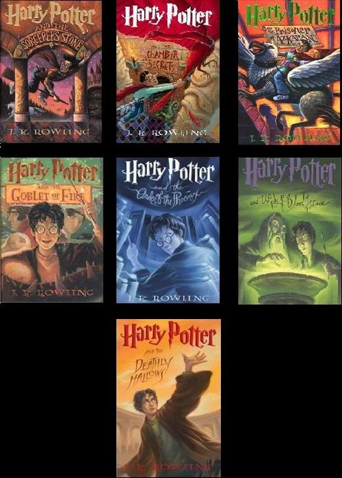 The Harry Potter Series By Jk Rowling