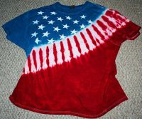 Red White and Blue Tie Dye. | 'Tis The Season | Pinterest